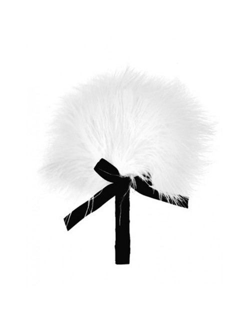 Plumeau blanc et noir 16 cm PLAISIRS SECRETS