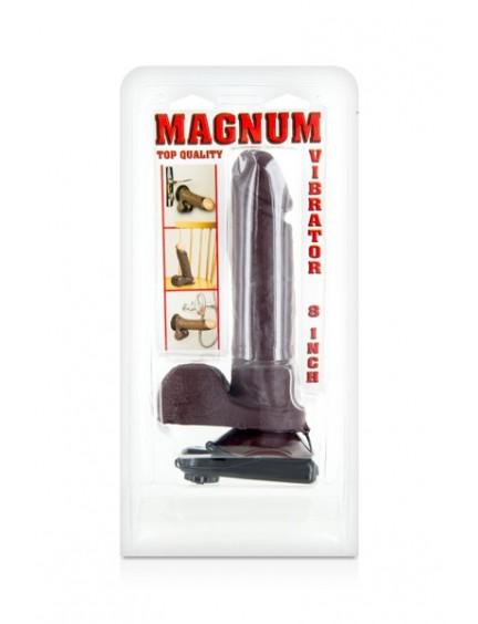 Gode Ventouse Vibrant Réaliste Magnum 8 Belgo Prism