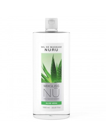 Gel de massage Nuru Aloe Vera 1000 ml