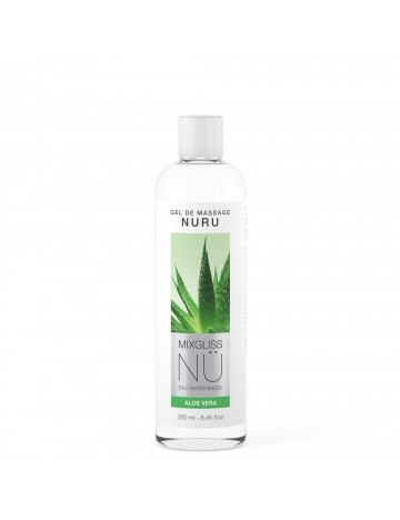 Gel de massage NU Aloe Vera 250 ml Mixgliss