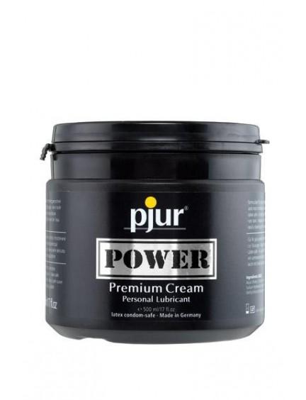 Crème lubrifiante anal Power 500ml Pjur