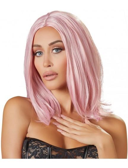Perruque Cheveux Rose Look Fashion Cottelli