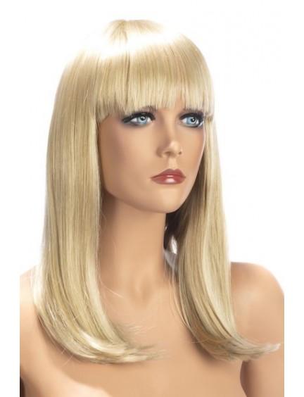 Perruque Blonde Emma Cheveux Longs et raide Worldwigs