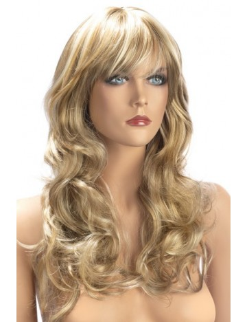 Perruque Blonde Mèches Zara Cheveux Longs Worldwigs