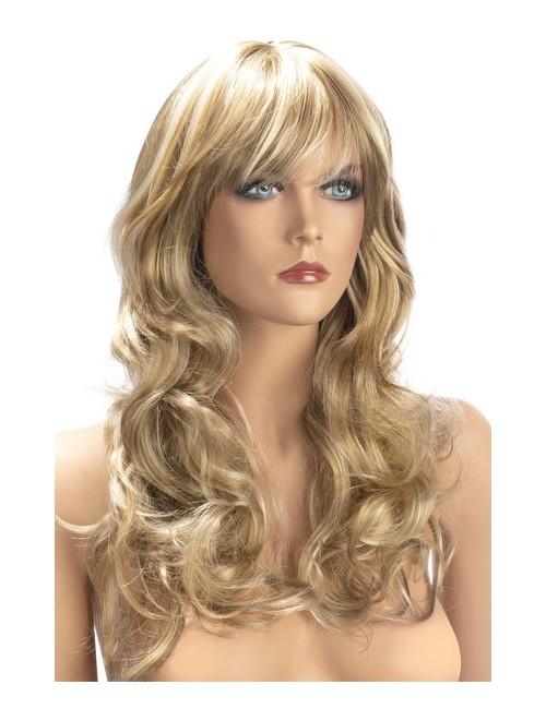 Perruque Blonde Mèches Zara Cheveux Longs Worldwigs