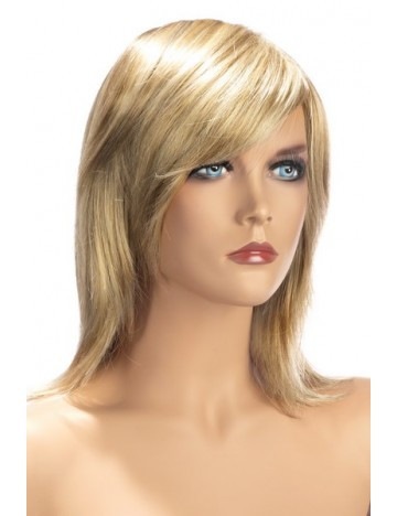 Perruque Blonde Zoe Cheveux Demie Longueur Worldwigs