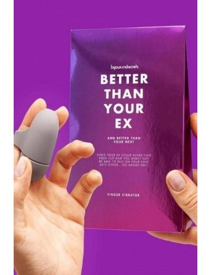 """Stimulateur Clitoridien """"Better than your ex"""" Bijoux Indiscrets"""
