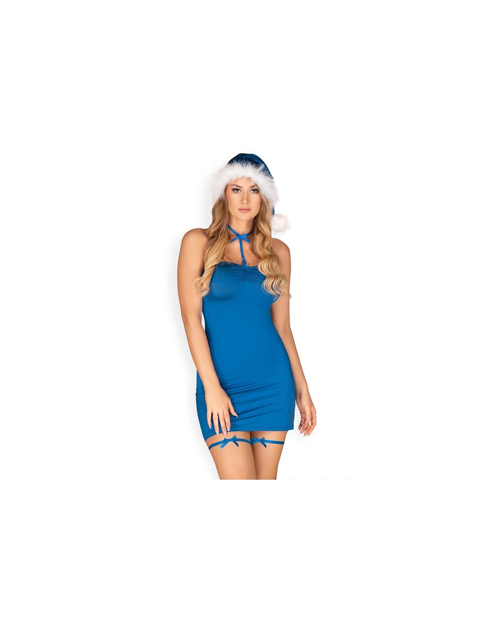 Nuisette Kissmas Bleu Obsessive