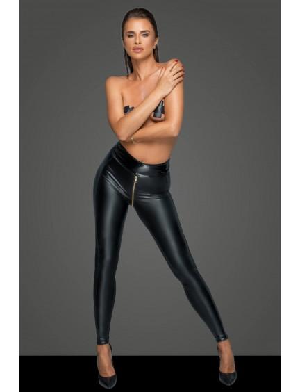 Legging Vinyle Missbehaved Noir Handmade