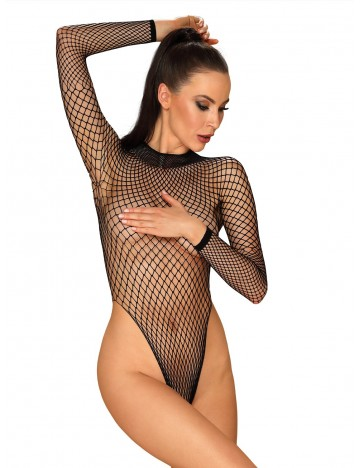 Body manches longues noir Issy Obsessive