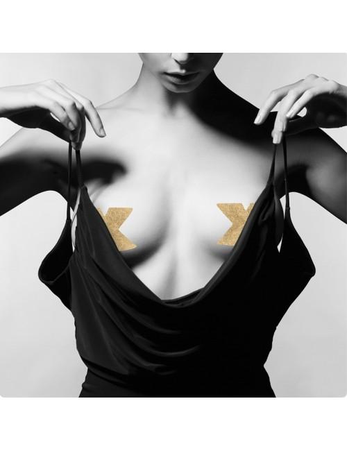 Nipples Flash Croix Or Bijoux Indiscrets