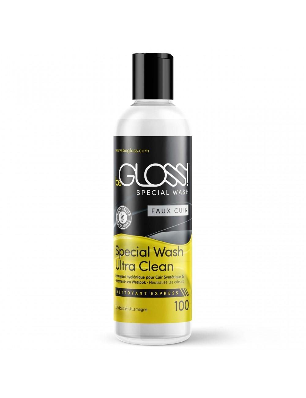 Spray Nettoyant Faux Cuir et Wetlook 100ml Begloss