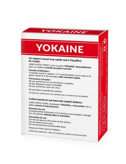 Spray Retardant Yokaine Homme Labo Intex-Tonic