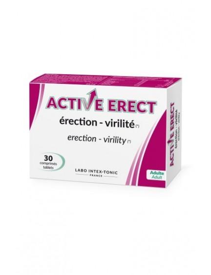 Aphrodisiaque 30 Comprimés Active Erect Labo Intex-Tonic