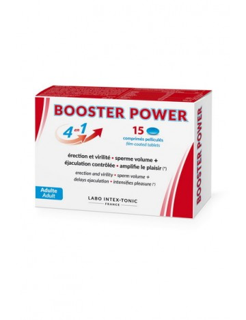 Aphrodisiaque 15 Comprimés Booster Power Labo Intex-Tonic