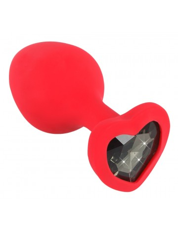 Plug anal silicone Medium rouge YOU 2 TOYS