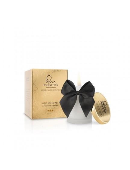 Bougie de massage Comestible Caramel Bijoux Indiscrets
