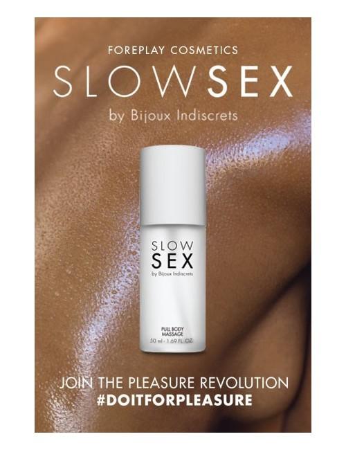 Gel de massage Slow Sex Bijoux Indiscrets
