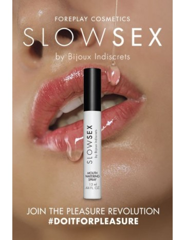 Spray activateur de salive Slow Sex Bijoux Indiscrets