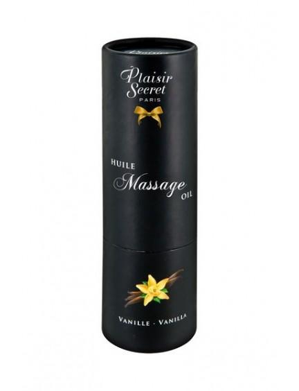 Huile de massage comestible Vanille 59 ml