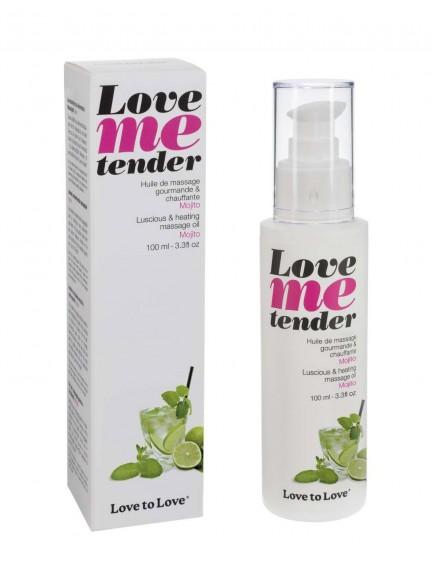 Huile chauffante Love Me Tender Mojito Love To Love