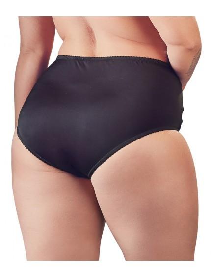 Culotte Maxi taille haute noire Cottelli Collection