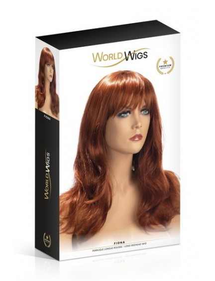 Perruque Rousse Fiona Cheveux Longs Worldwigs