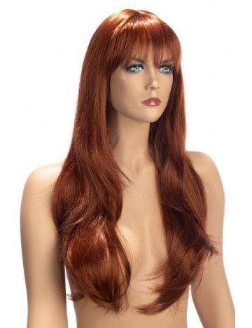 Perruque Rousse Diane Cheveux Longs Worldwigs