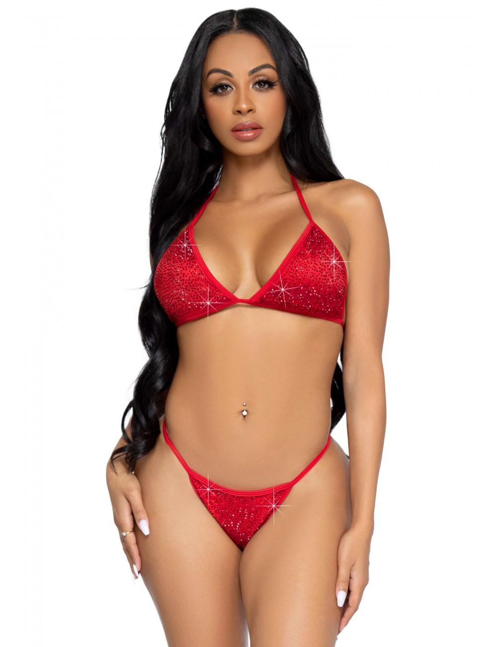 Bikini Phoenix Rouge Leg Avenue