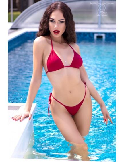Bikini Stretch String Rouge Chilirose