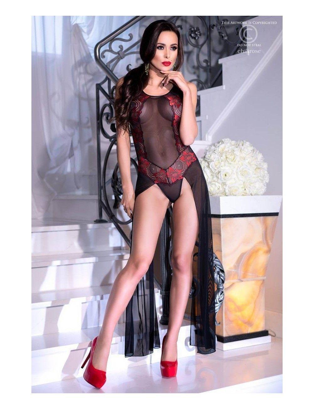 Body Elegant Longs Drapés Chilirose