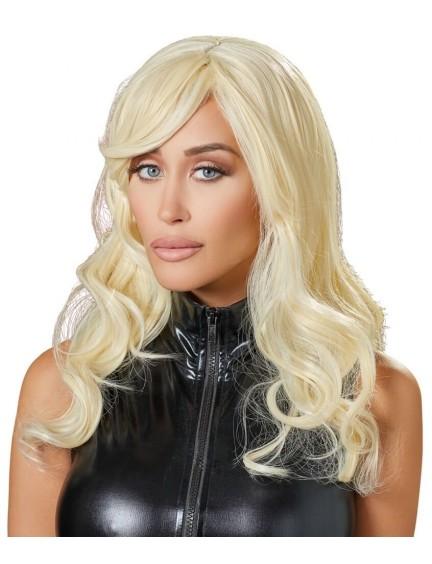 Perruque Cheveux Blond Ondulés Cottelli