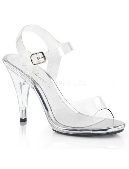 Sandales Transparentes & Chic PLEASER