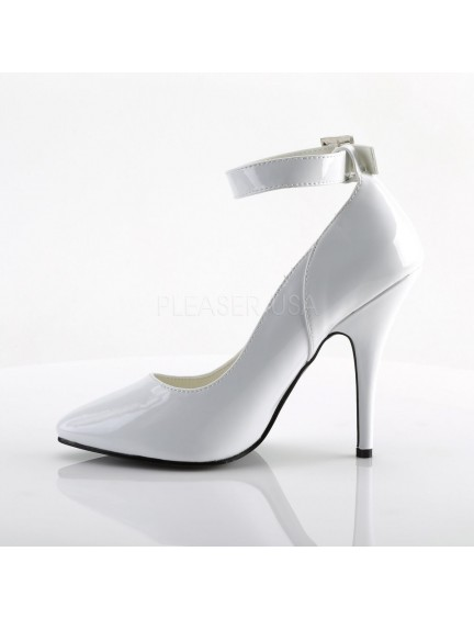 Escarpins chic et bride Blanc PLEASER