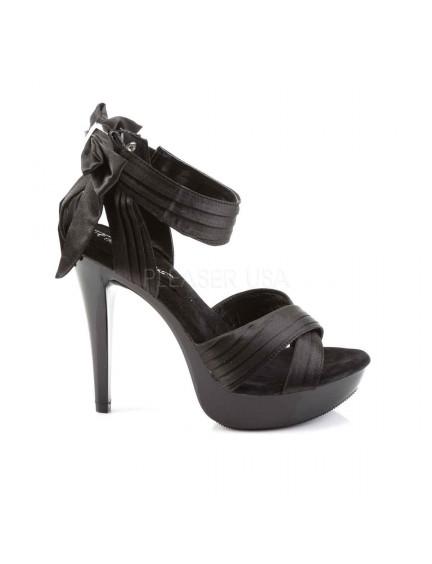 Sandales noeud et chic Noir PLEASER