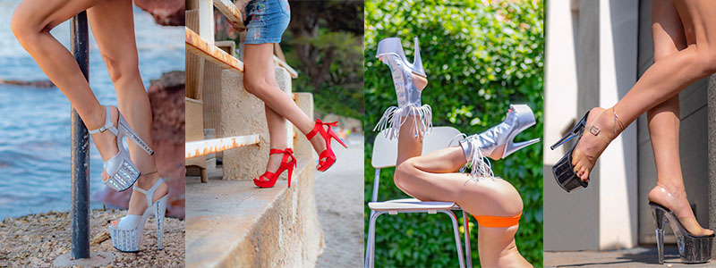 chaussures Pleaser pour femme