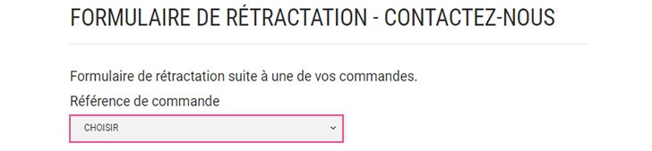 commande acces secret